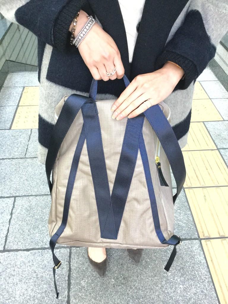 アトネック スクラップブック 有楽町マルイ atneK Scrap Book POMTATA ポンタタ 日本製 リュックサック リュック 軽い ナイロン 丈夫 大きめ A4