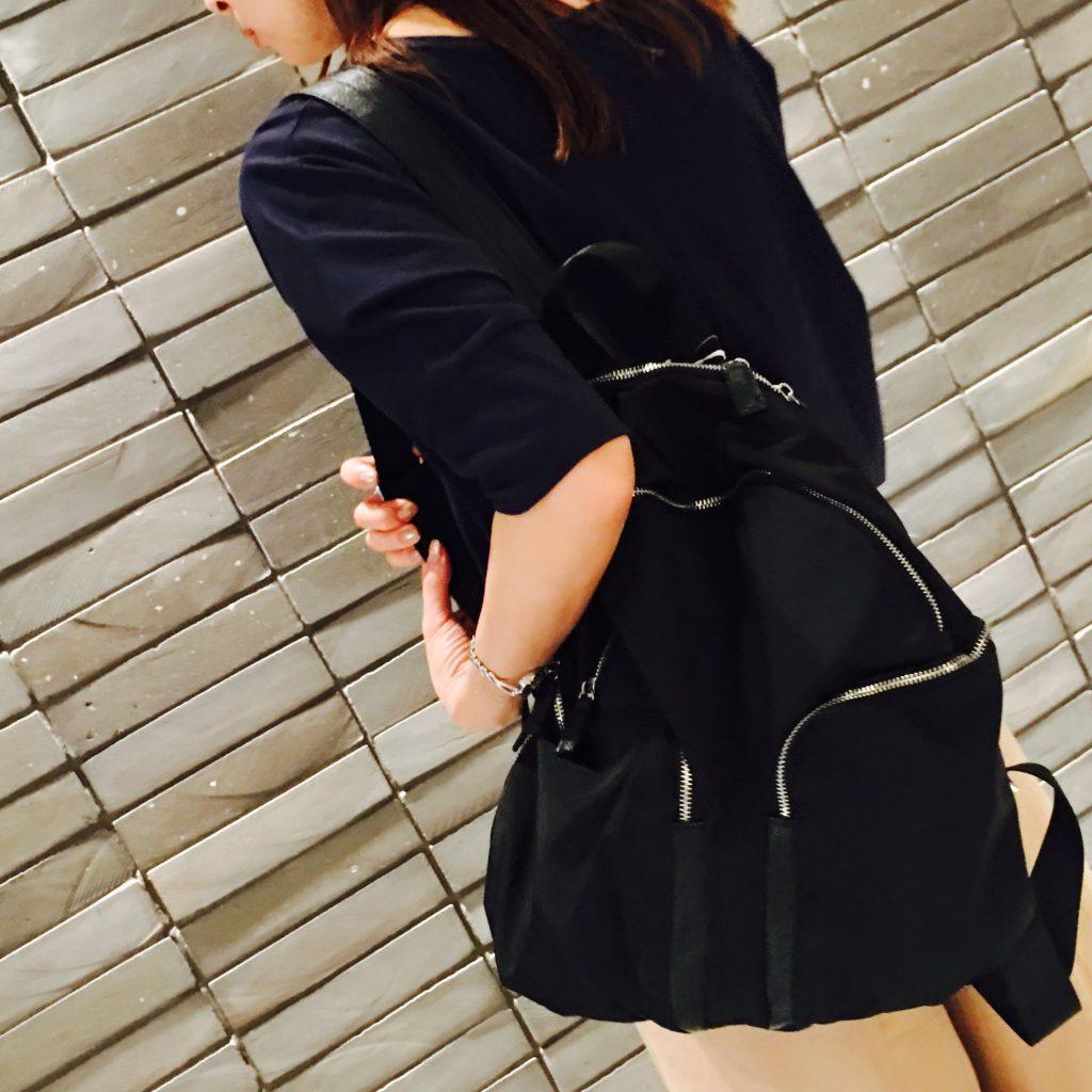 スクラップブック 渋谷 ヒカリエ セール リュック バッグ