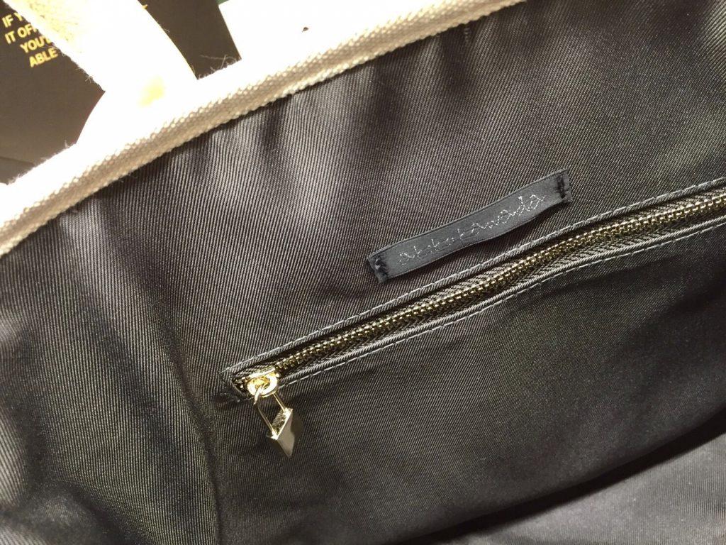 ScrapBook atneK スクラップブック アトネック 有楽町マルイ トートバッグ totebag フリンジ キャンバス キャンバストートバッグ