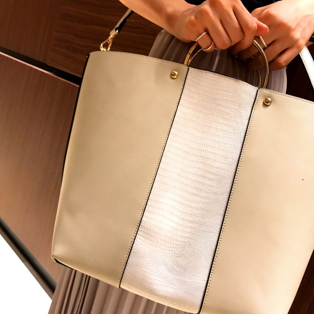 Scrap Book LUMINE新宿 スクラップブック ルミネ新宿 バッグ Bag 合皮 A4 2way 金具ハンドル 型押し オリジナル ショルダー shoulder