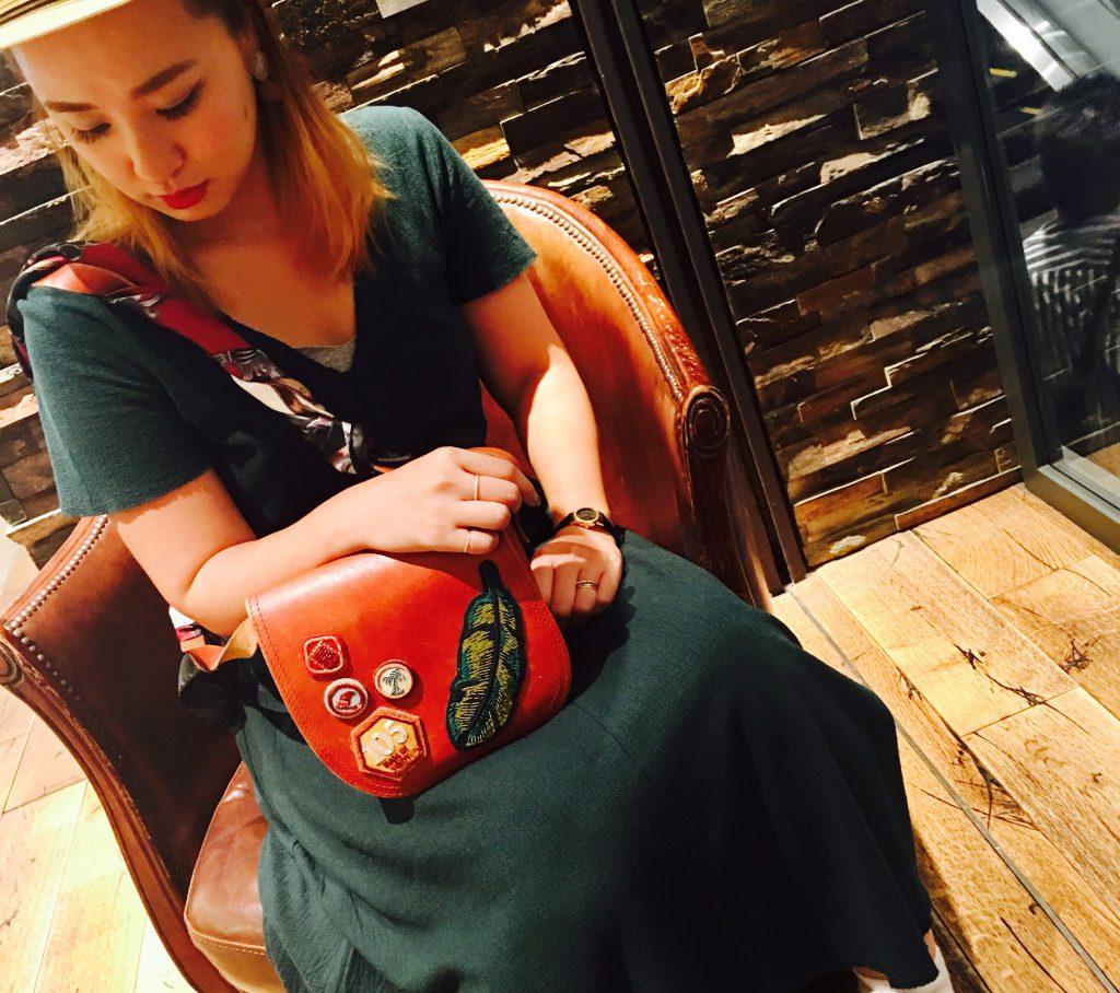 スクラップブック 渋谷 ファイブノット 5knot バッグ ショルダーバッグ shoulderbag