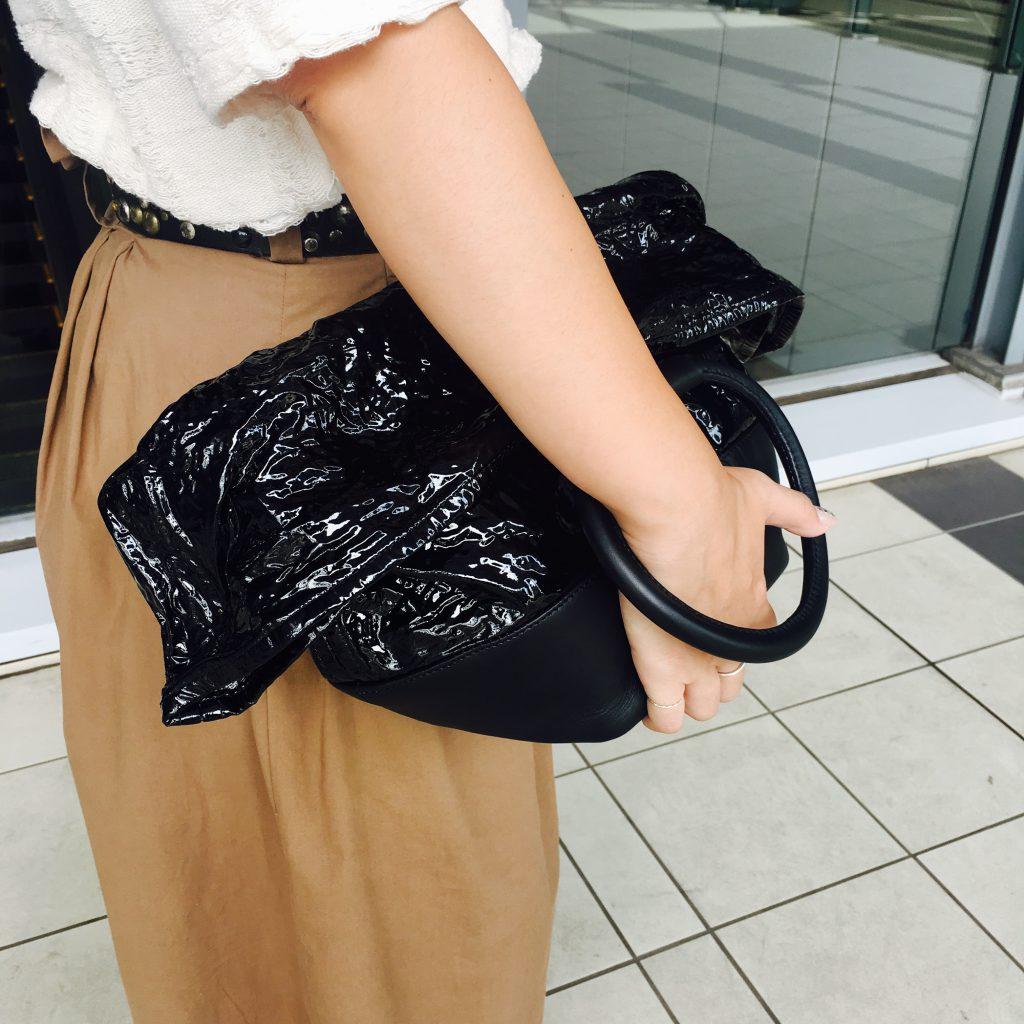 スクラップブック 渋谷 ヒカリエ イコット バッグ bag ハンドバッグ クラッチバッグ