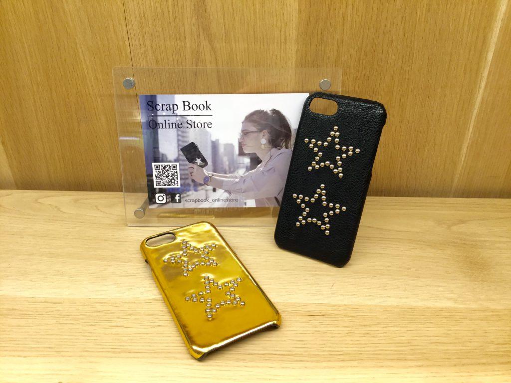 atneK ScrapBook アトネック スクラップブック 有楽町マルイ iphonecase スマホカバー 星 ster