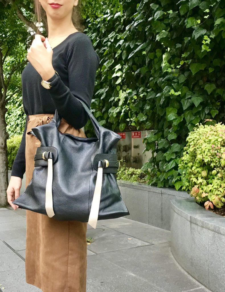 スクラップブック アトネック ScrapBook atneK 有楽町マルイ トフアンドロードストーン TOFF&LOADSTONE トレンチ・マルシェ bag バッグ バック ショッピングバッグ型