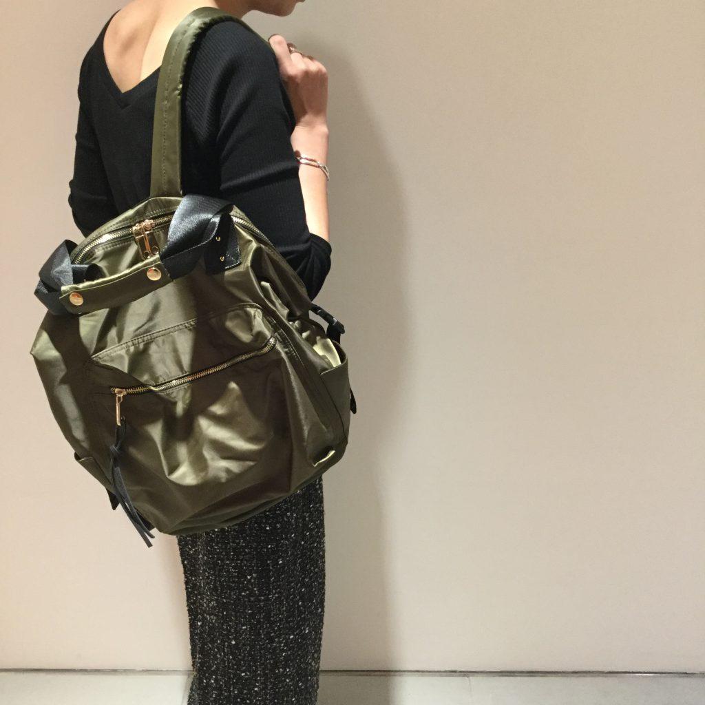 Scrap Book スクラップブック ルクア大阪 nylon backpack ナイロンリュック