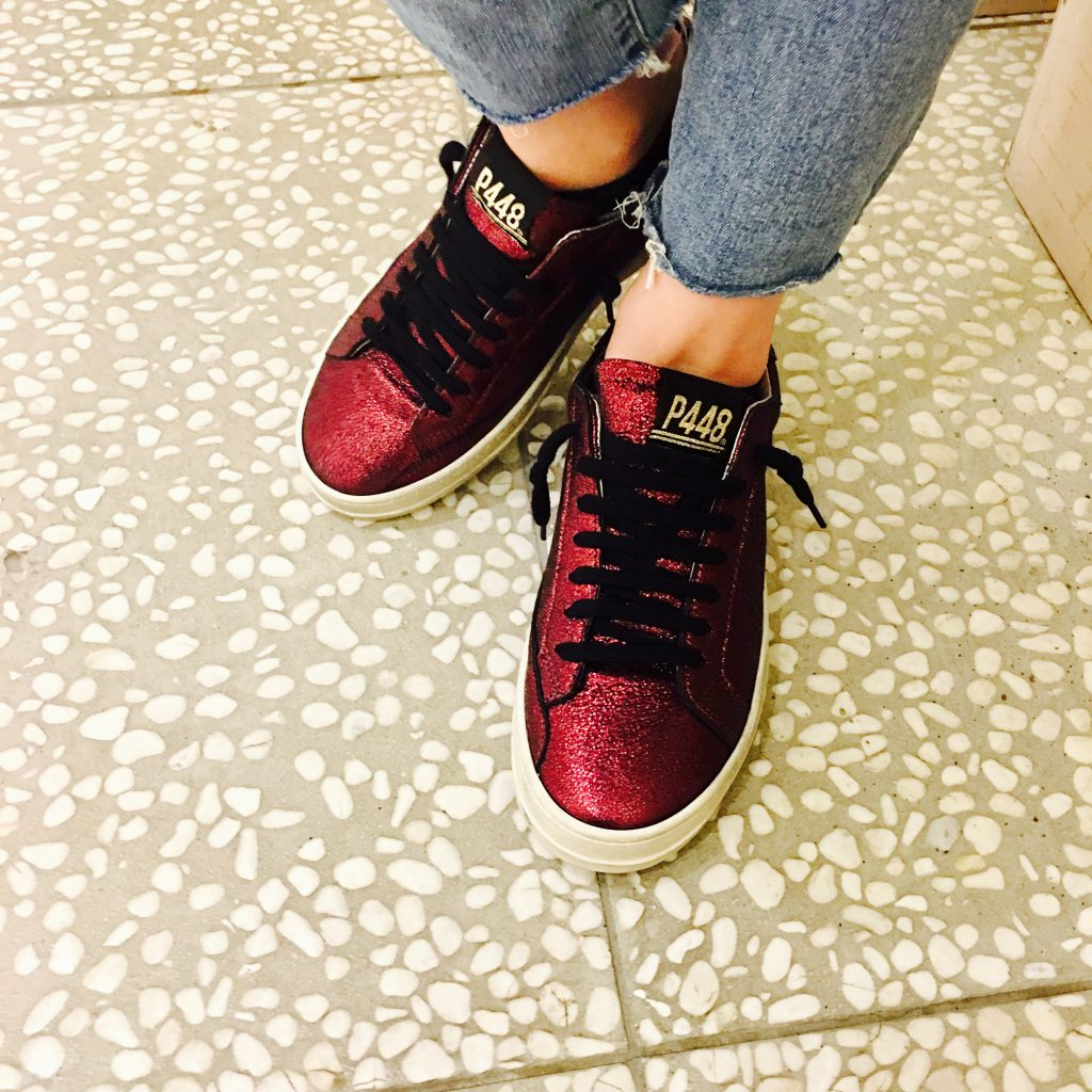 スクラップブック 渋谷 靴 スニーカー p448