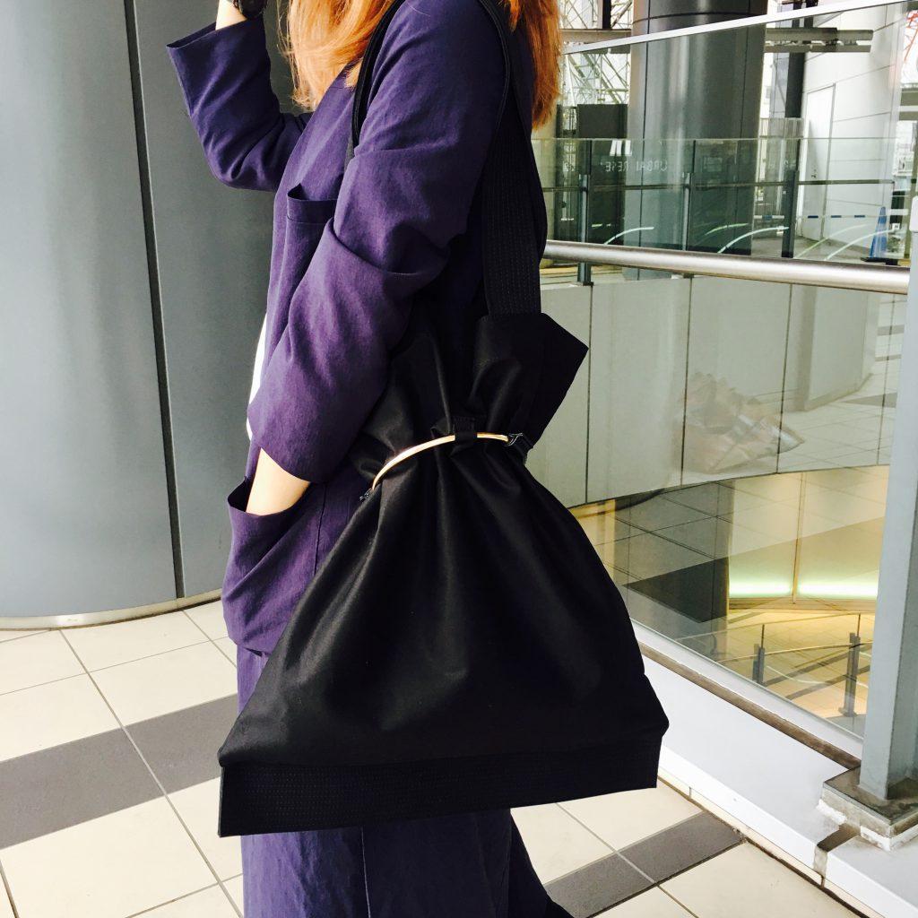 スクラップブック 渋谷 キャセリーニ bag バッグ トートバッグ 大きめバッグ 1泊2日