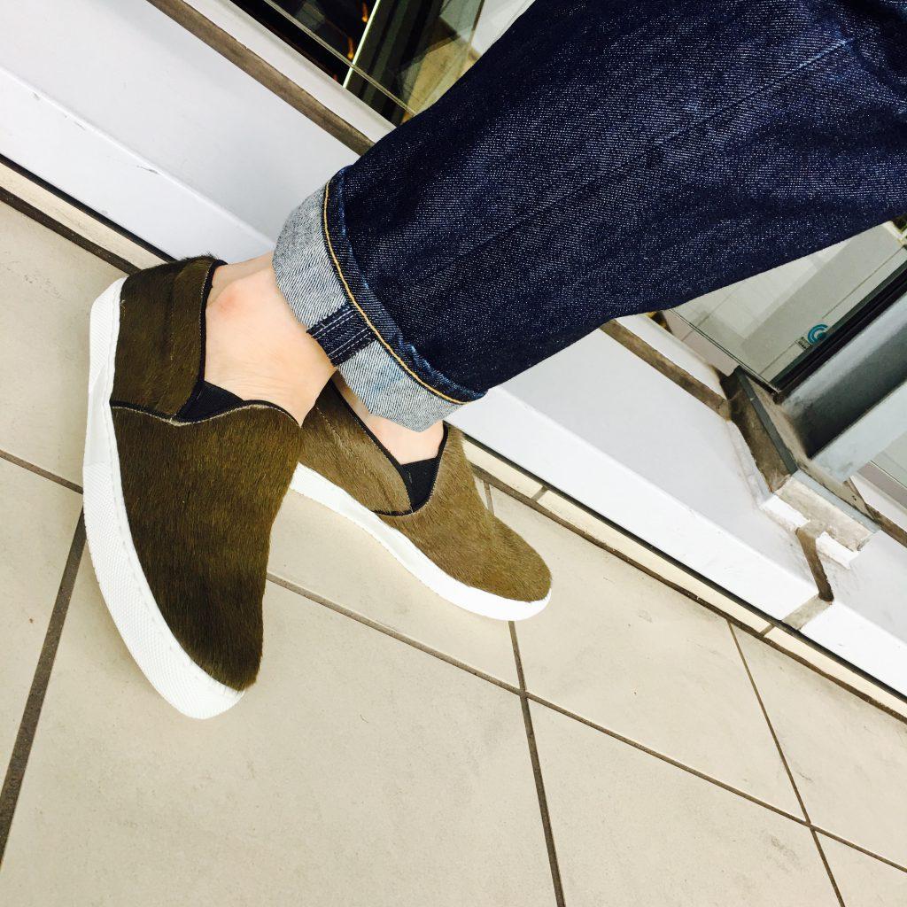 スクラップブック 渋谷 シューズ 靴 スリッポン