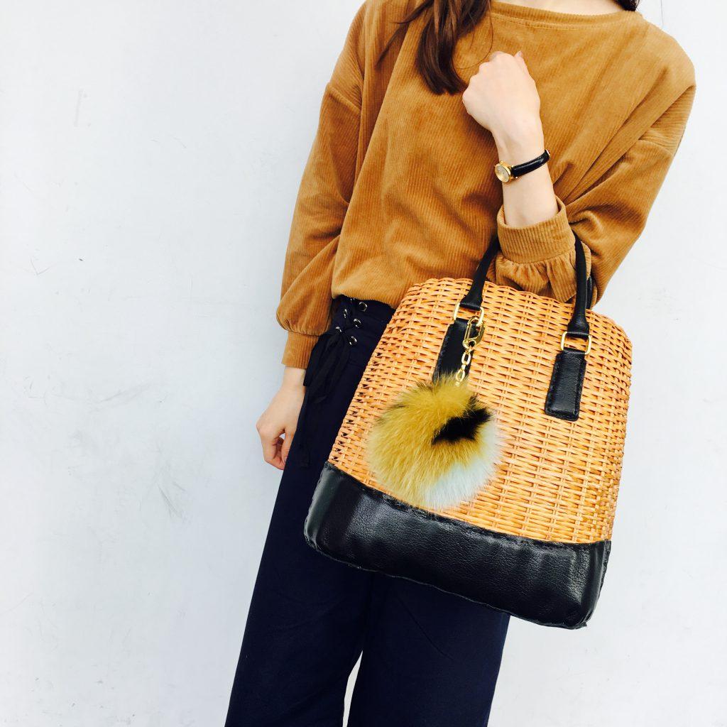 スクラップブック 渋谷 イコット ikot bag かごバッグ ハンドバッグ