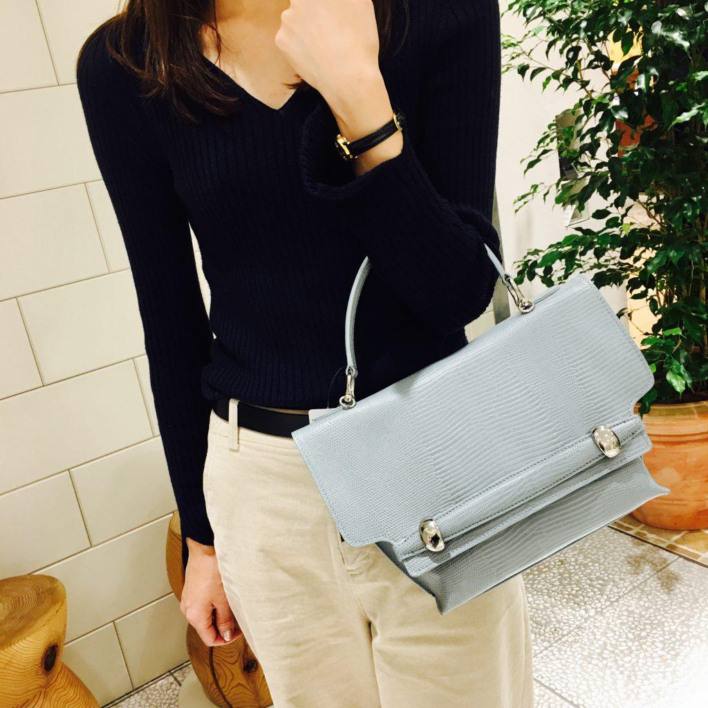 スクラップブック 渋谷 トフアンドロードストーン バッグ bag ハンドバッグ 牛革 日本製