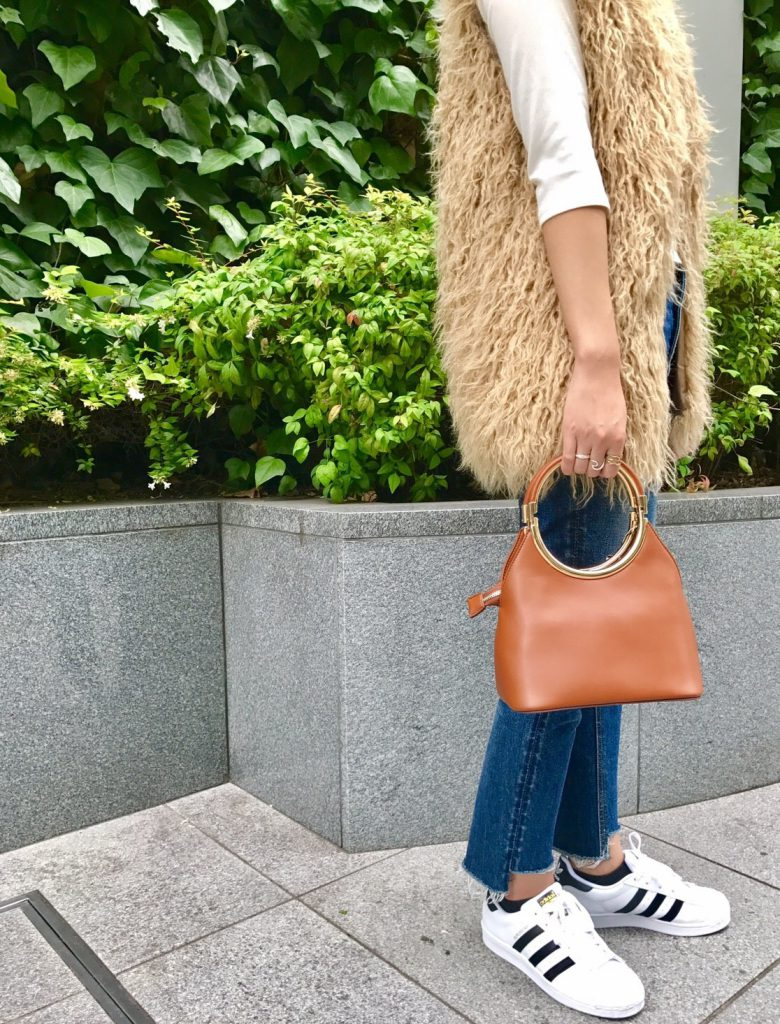#scrapbook #スクラップブック #ショルダーバッグ #shoulder #bag #camel #autumn