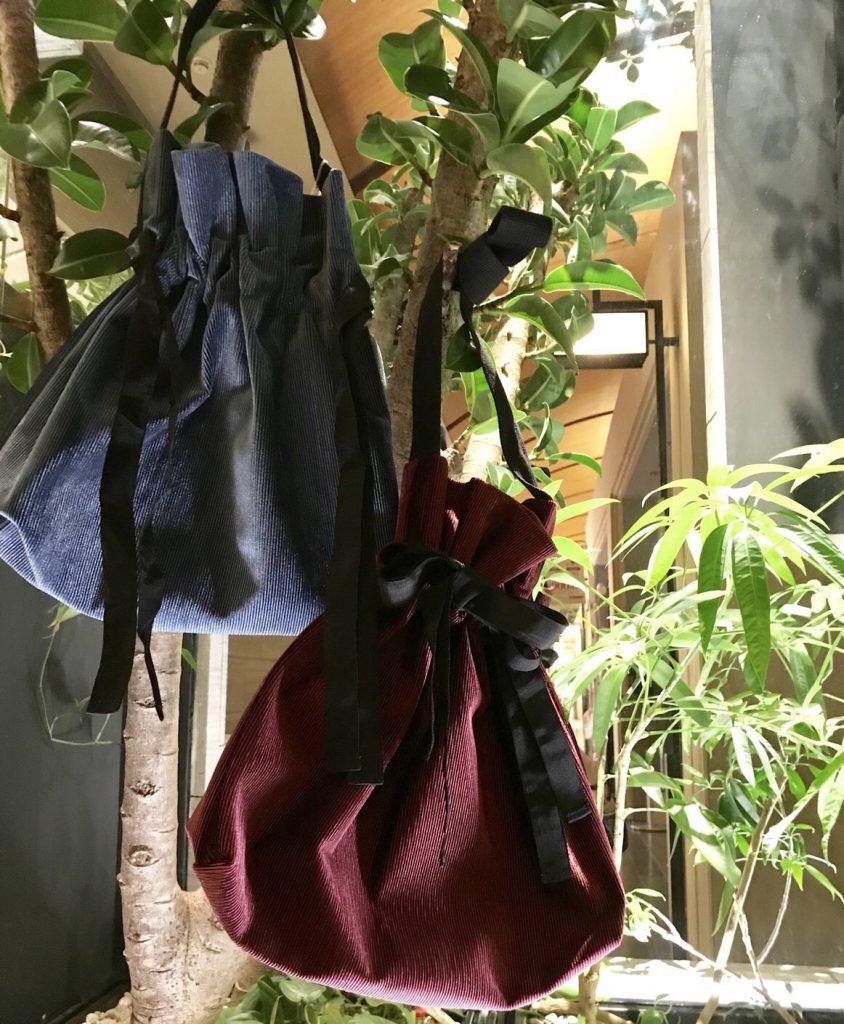 スクラップブック scrapbook 有楽町マルイ アトネック ベロア リボン付き ショルダーバッグ