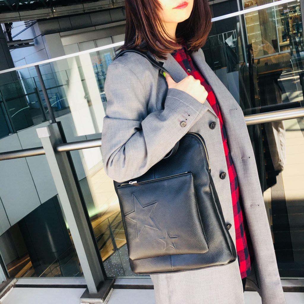 スクラップブック 渋谷 ヒカリエ bag バッグ ショルダーバッグ 2way リュック キレイめ