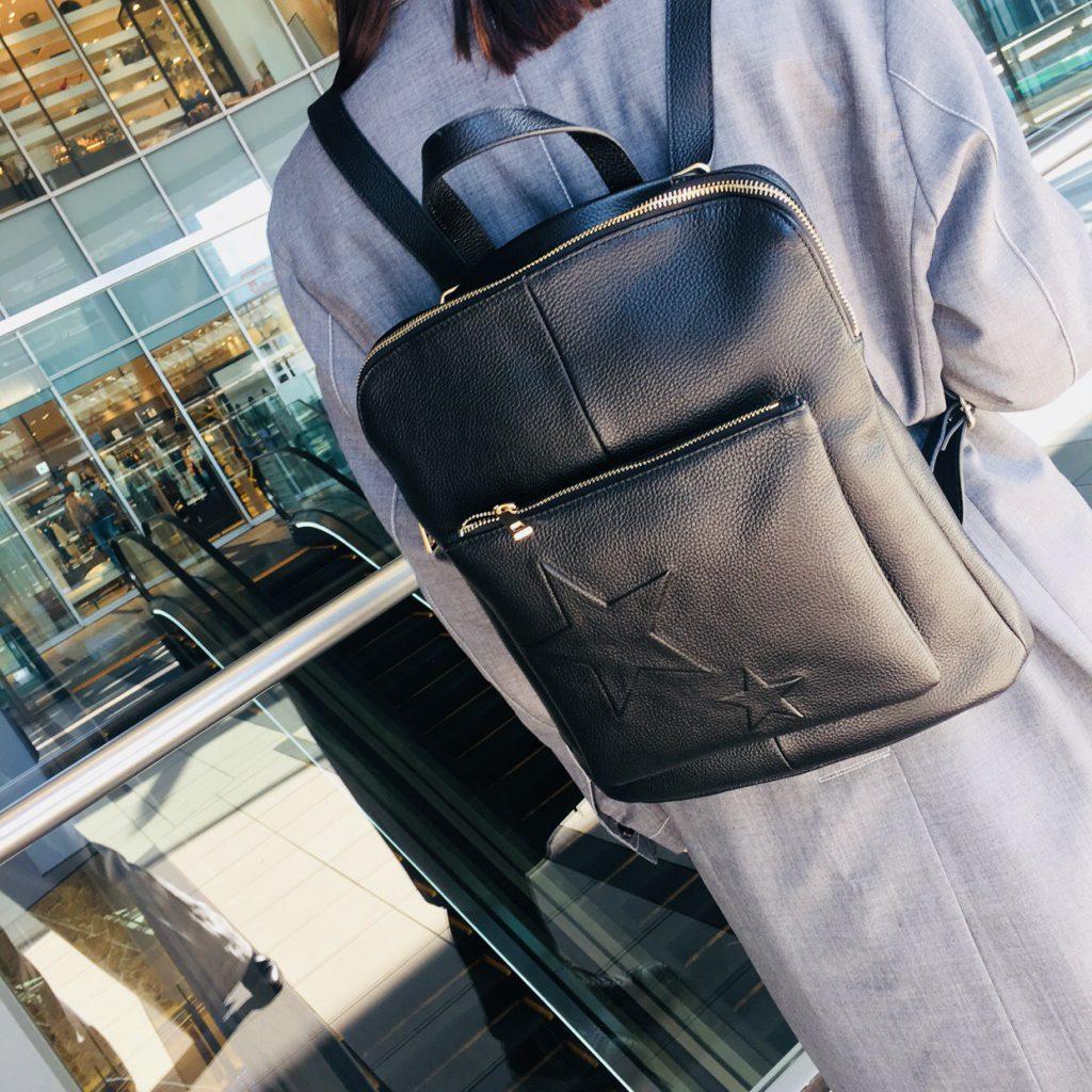 スクラップブック 渋谷 ヒカリエ バッグ bag リュック 2way