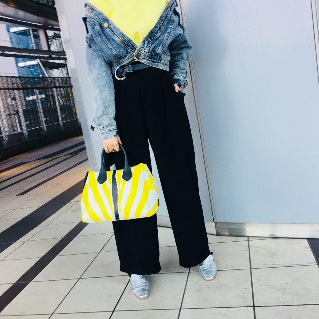 スクラップブック 渋谷 ヒカリエ バッグ ハンドバッグ ショルダーバッグ ジャンニキャリーニ ガムシリーズ 新作 春物イエロー ピンク
