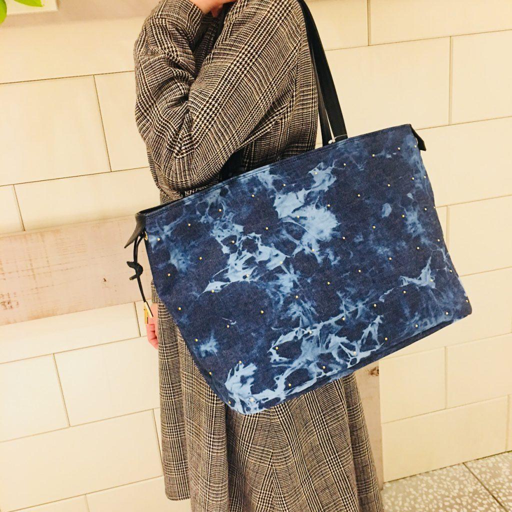 スクラップブック 渋谷 bag バッグ トートバッグ a4デニム素材 春夏 新作