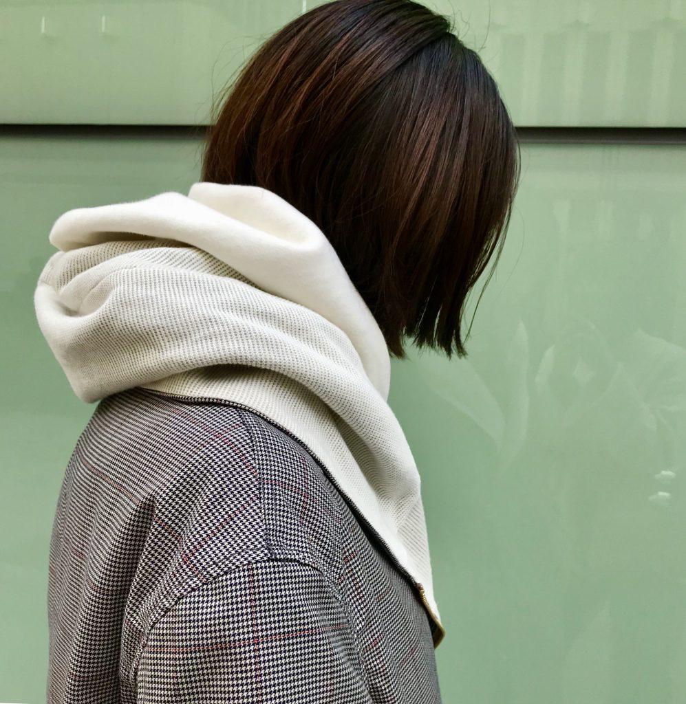 スクラップブック アトネック Scrapbook atneK 有楽町マルイ ハルズアミ Haru'sami コート スプリングコート coat 春のコート 可愛い 可愛いコート グレンチェック チェック柄