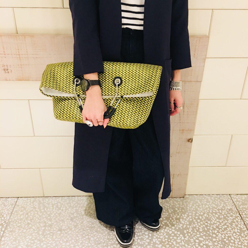 スクラップブック 渋谷 ヒカリエ バッグ bag クラッチバッグ キャセリーニ 新作 春物 サマーバッグ