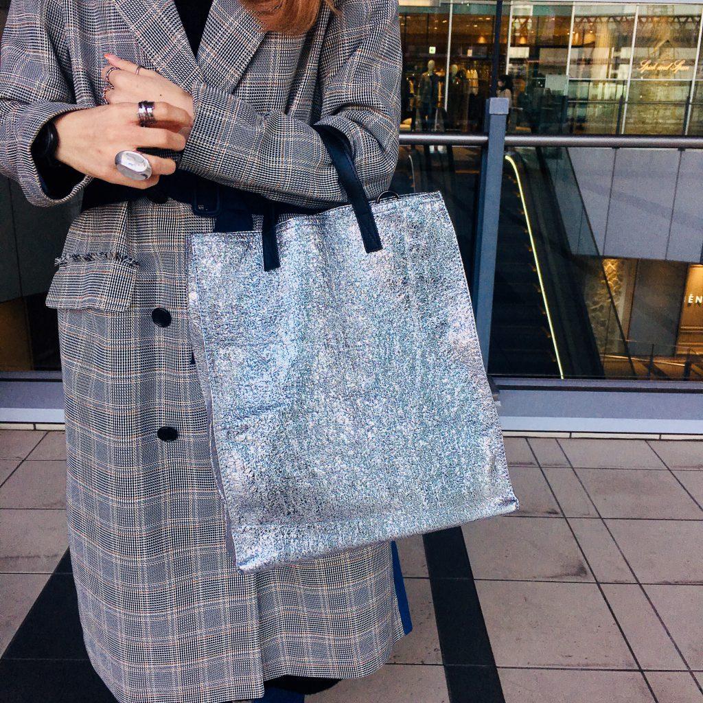 スクラップブック 渋谷 ヒカリエ バッグ bag トートバッグ 仕事 通勤用 a4
