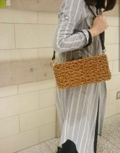 渋谷 ヒカリエ ShinQs 籠 籠bag かごバッグ ラタン 夏 オシャレ トレンド ショルダーバッグ