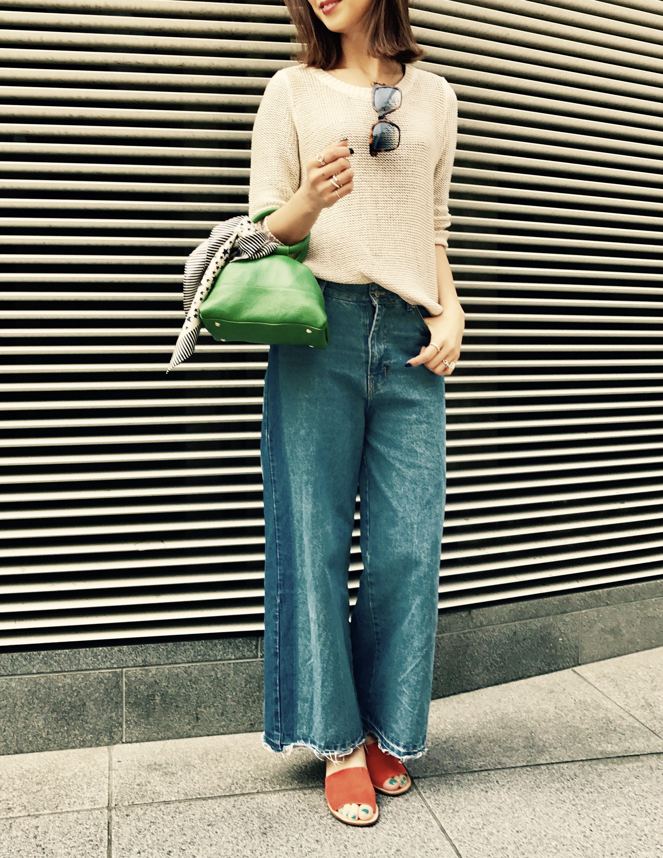 SiMaBianca Milano イタリア製 Scrap Book シーマビアンカ スクラップブック 有楽町マルイ 銀座 牛革 2wayshoulder bag 斜め掛けショルダー レザーバッグ ミニバッグ 可愛い グリーン 軽い マチ大きめ