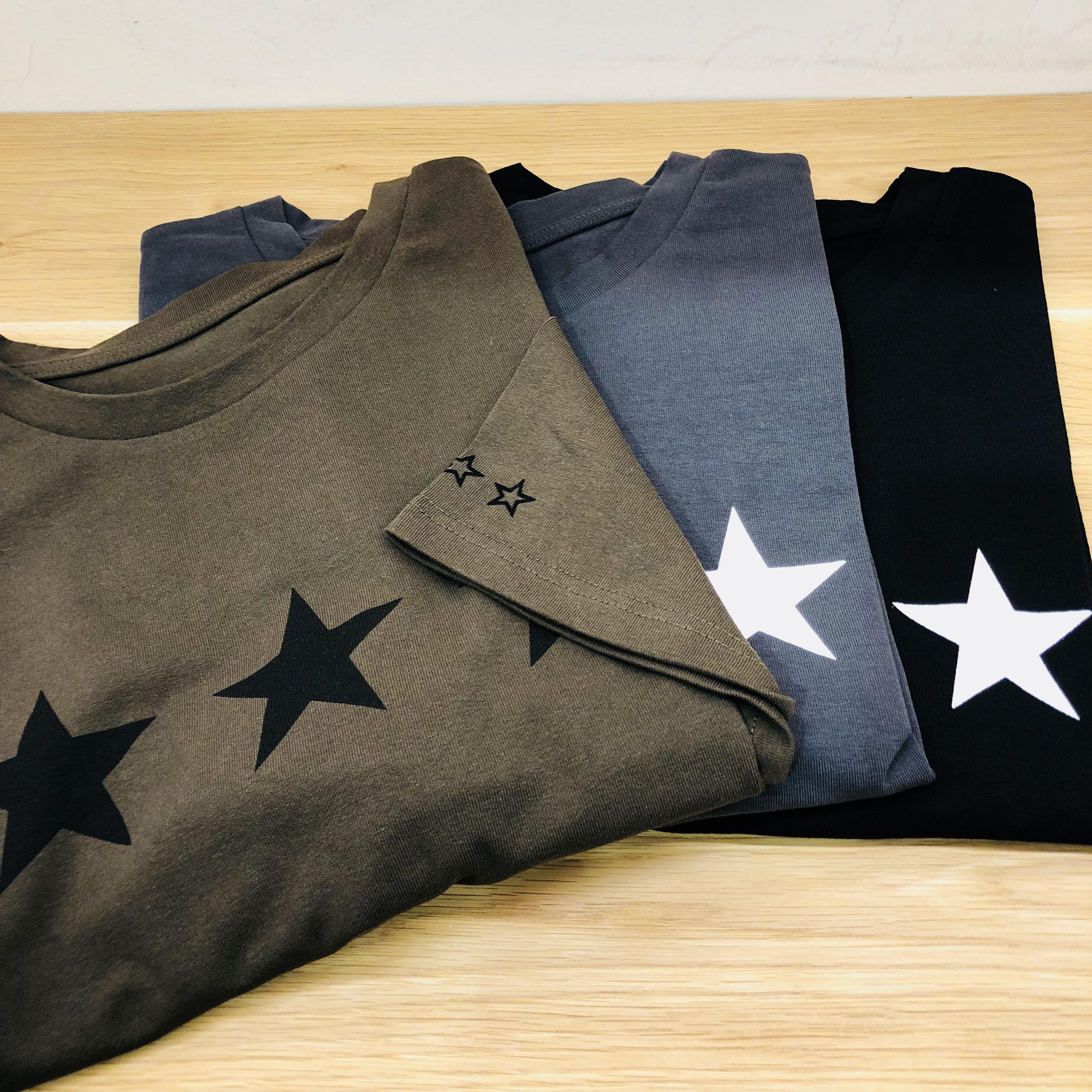 Scrap Book スクラップブック STAR T-shirt スターTシャツ