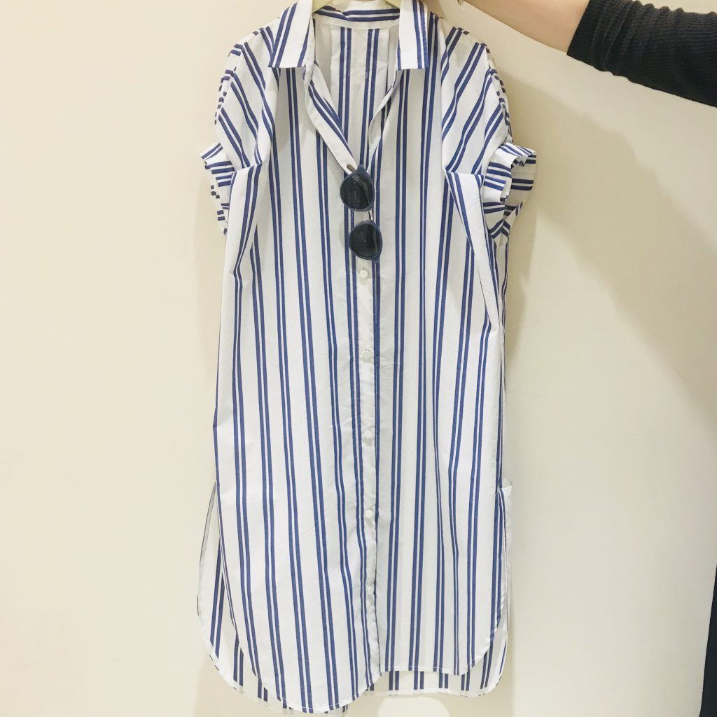 Scrap Book shirt one-piece