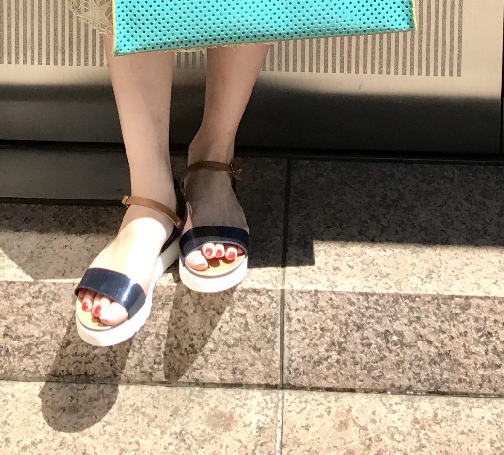 PLAKTON Scrap Book プラクトン スクラップブック 有楽町マルイ スペイン製 コルクソール 履きやすいサンダル ストラップサンダル sandal 軽いサンダル 歩きやすいサンダル 可愛い インポートサンダル