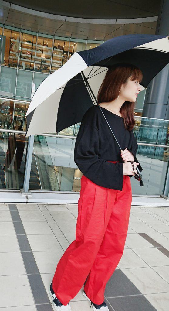 渋谷 渋谷ヒカリエShinQs スクラップブック渋谷ブログ ブログ ScrapBook レイングッズ Raingoods 梅雨アイテム 傘 umbrella 可愛い 大人可愛い グラスファイバー