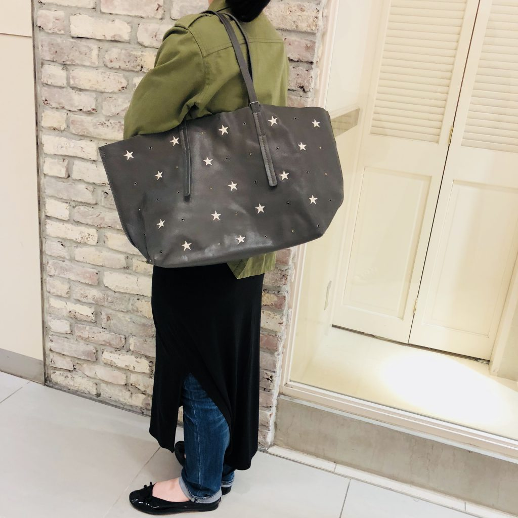 Scrap Book スクラップブック atneK アトネック leather tote bag レザートートバッグ