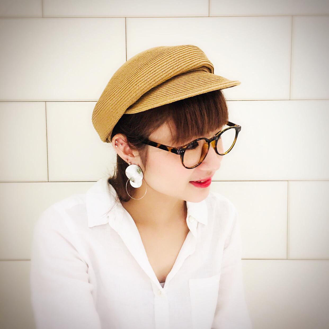 スクラップブック 渋谷 帽子 cap キャップ 夏素材 ペーパー