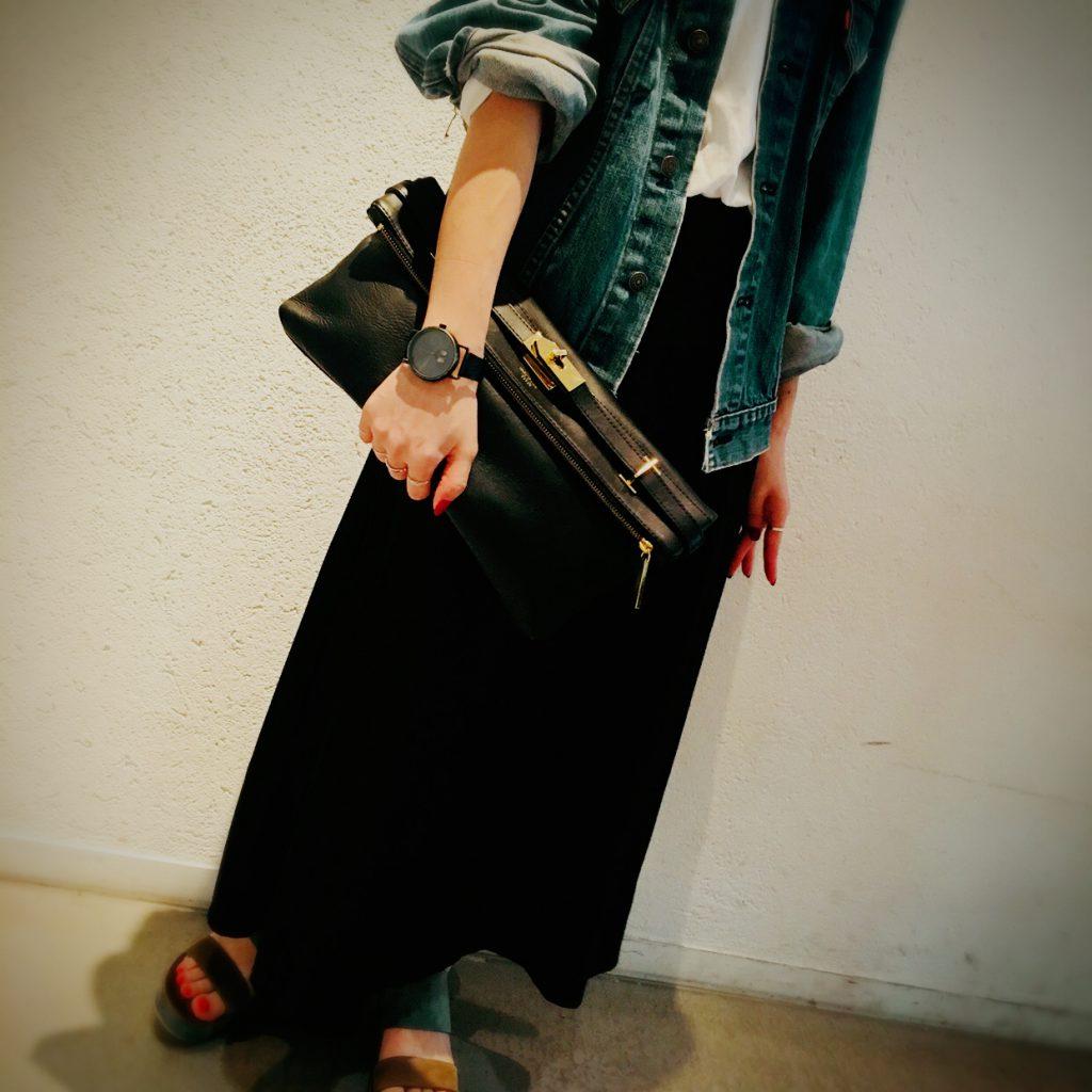 スクラップブック 渋谷 ヒカリエ バッグ クラッチバッグ bag a4 大きめサイズ