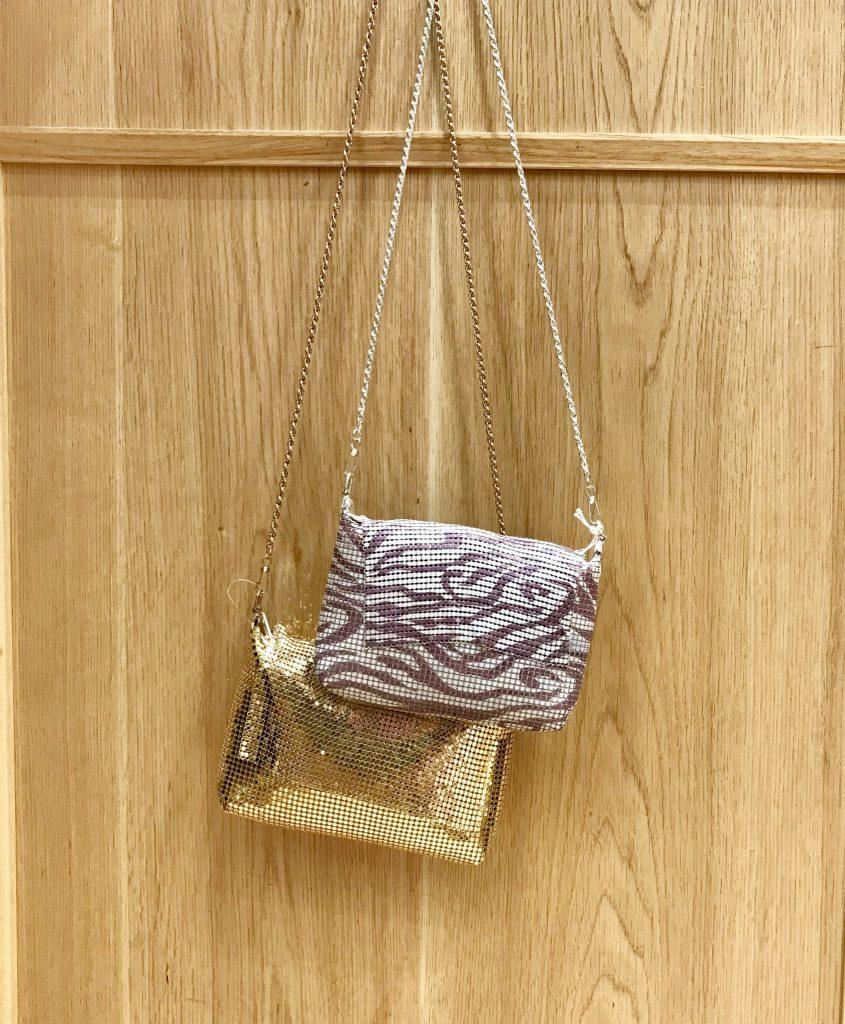 Scrap Book スクラップブック 有楽町マルイ 可愛い metal chain bag メタルチェーンバッグ ミニバッグ mini bag 日本ブランド パーティーバッグ オケージョンバッグ ファスナー付き 斜め掛け