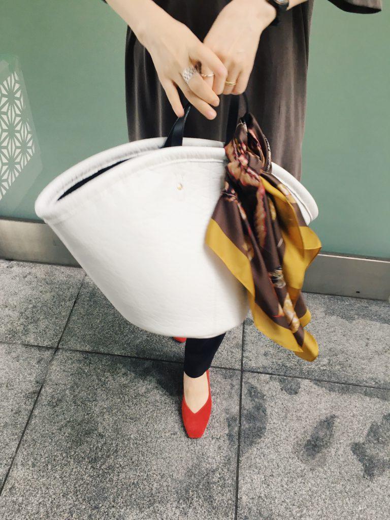 Scrap Book スクラップブック 有楽町マルイ 可愛い ikot イコット handbag ハンドバッグ 水牛革 バッファロー・バイソン