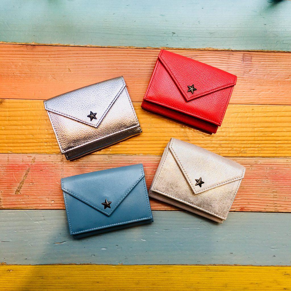 スクラップブック 渋谷 ヒカリエ 財布 wallet 三つ折財布 小さめ財布 コンパクト 軽い財布