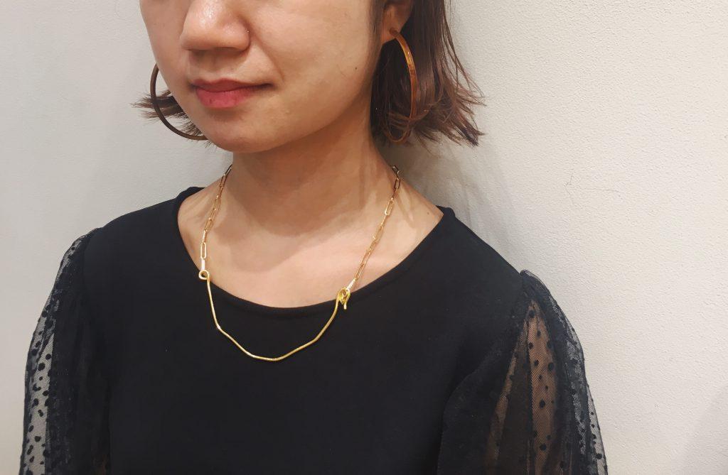 Scrap Book スクラップブック 有楽町マルイ 可愛い ユーカリプト 日本製 アクセサリー necklace ネックレス bracelet ブレスレット gold ゴールド silver シルバー
