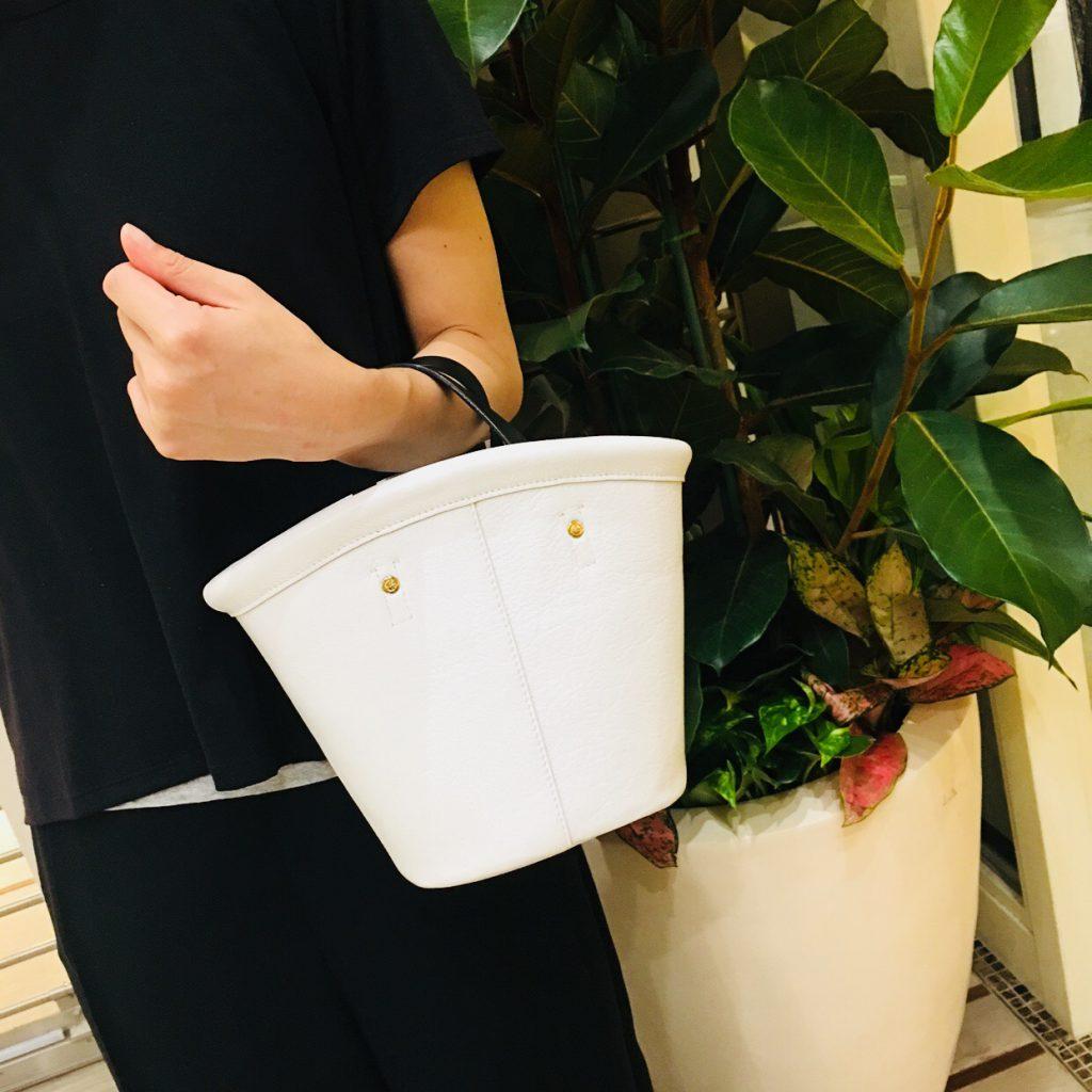 スクラップブック 渋谷 ヒカリエ ikot イコット bag バッグ ハンドバッグ レザー 秋物 新作