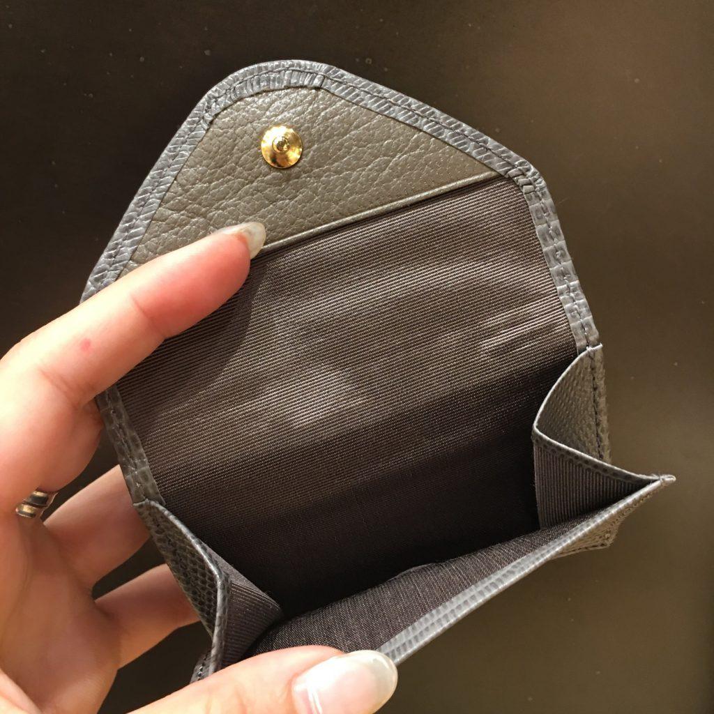 TOFF&LOADSTONE トフアンドロードストーン Scrap Book スクラップブック アトネック 有楽町マルイ 可愛い 日本職人 日本製 牛革 型押し 財布 三つ折り Wallet 小さめ 軽い