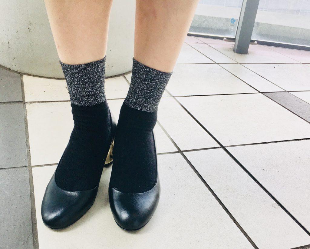 スクラップブック 渋谷 ヒカリエ シューズ shoes パンプス pumps 仕事用 シンプル ヒール