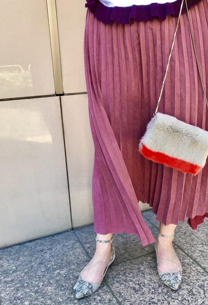 TOFF&LOADSTONE Scrap Book スクラップブック トフ&ロードストーン 有楽町マルイ 可愛い 日本製 日本ブランド スマホケース チェーン付きスマホケース ラビットファー リザード型押し