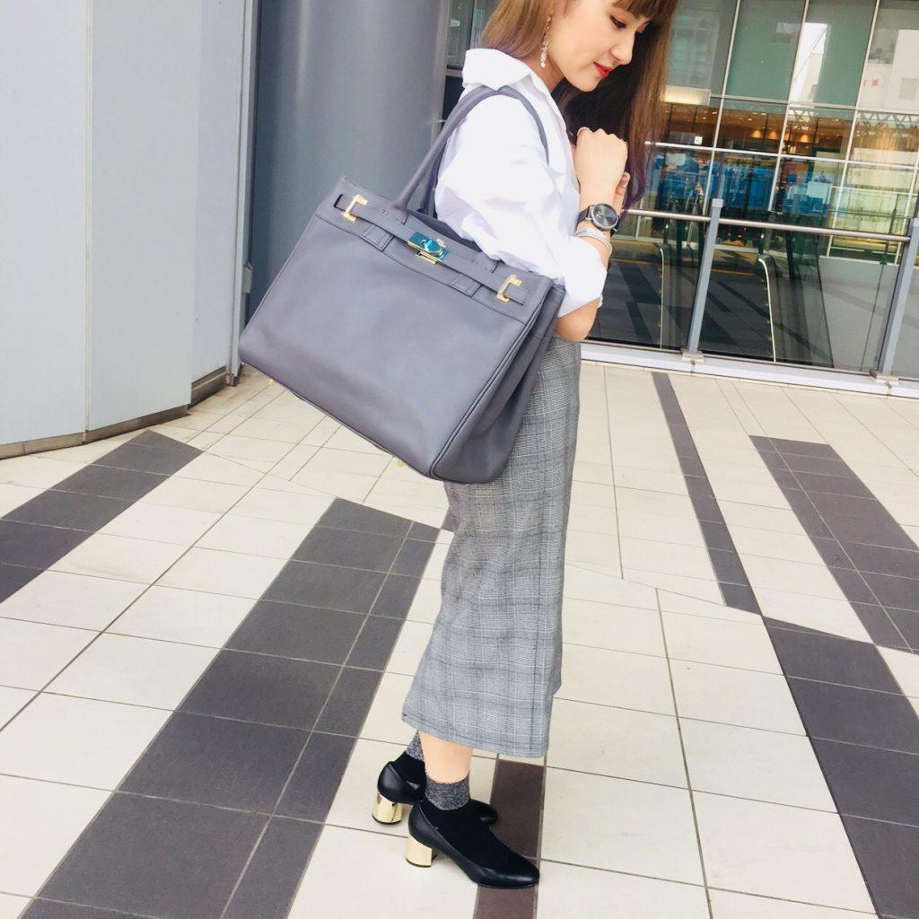 スクラップブック 渋谷 ヒカリエ バッグ bag トートバッグ MUL 仕事用 出張 大きめ