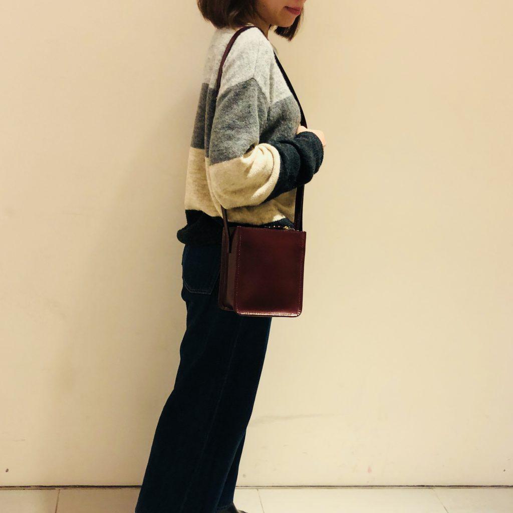 Scrap Book スクラップブック POMTATA ポンタタ shoulder bag ショルダーバッグ