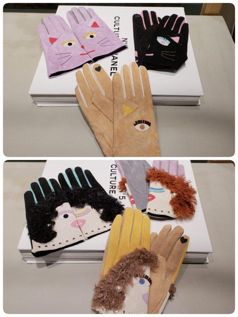 Scrap Book スクラップブック 池袋 東武  Casselini キャセリーニ Gloves 手袋 可愛い おしゃれ お洒落 個性的 珍しい