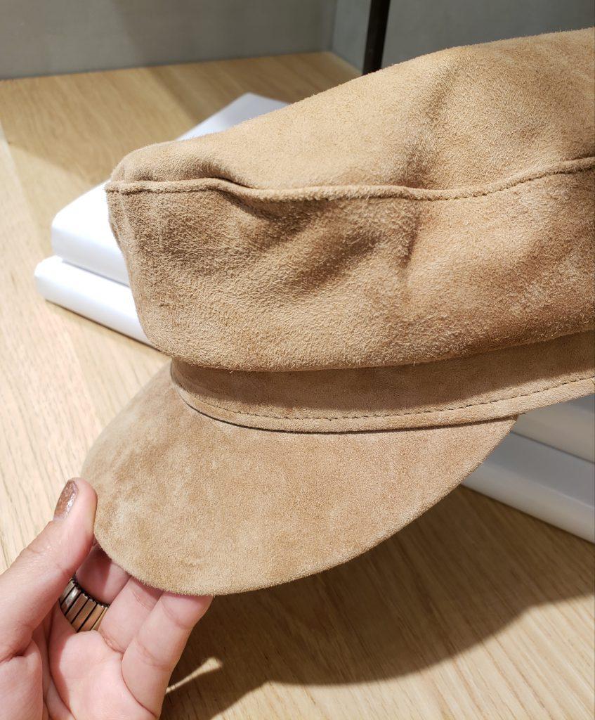 Scrap Book スクラップブック 池袋 東武  Casselini キャセリーニ 帽子 キャスケット レザー 可愛い おしゃれ かぶりやすい