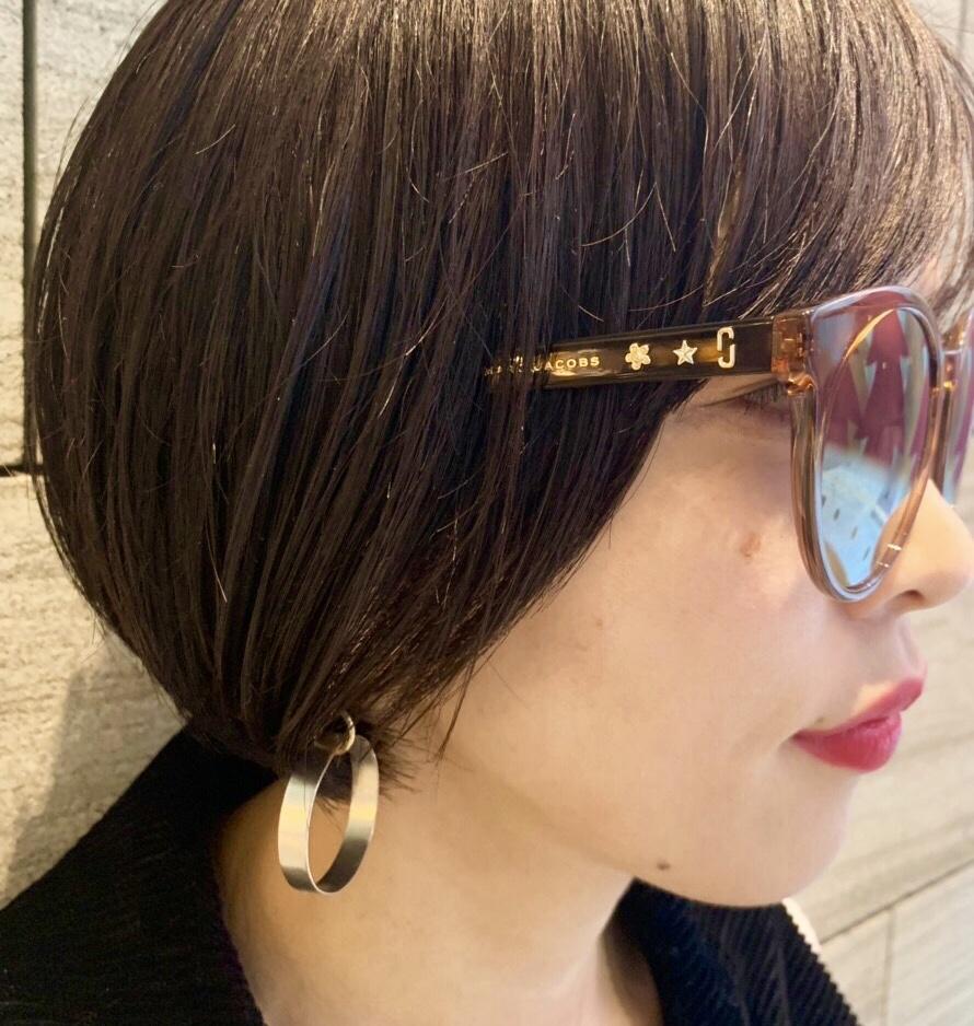 MARC JACOBS マークジェイコブス Scrap Book スクラップブック 有楽町マルイ 可愛い サングラス sunglasses 紫外線カット 可視光線 薄いカラーサングラス 丸いフレーム