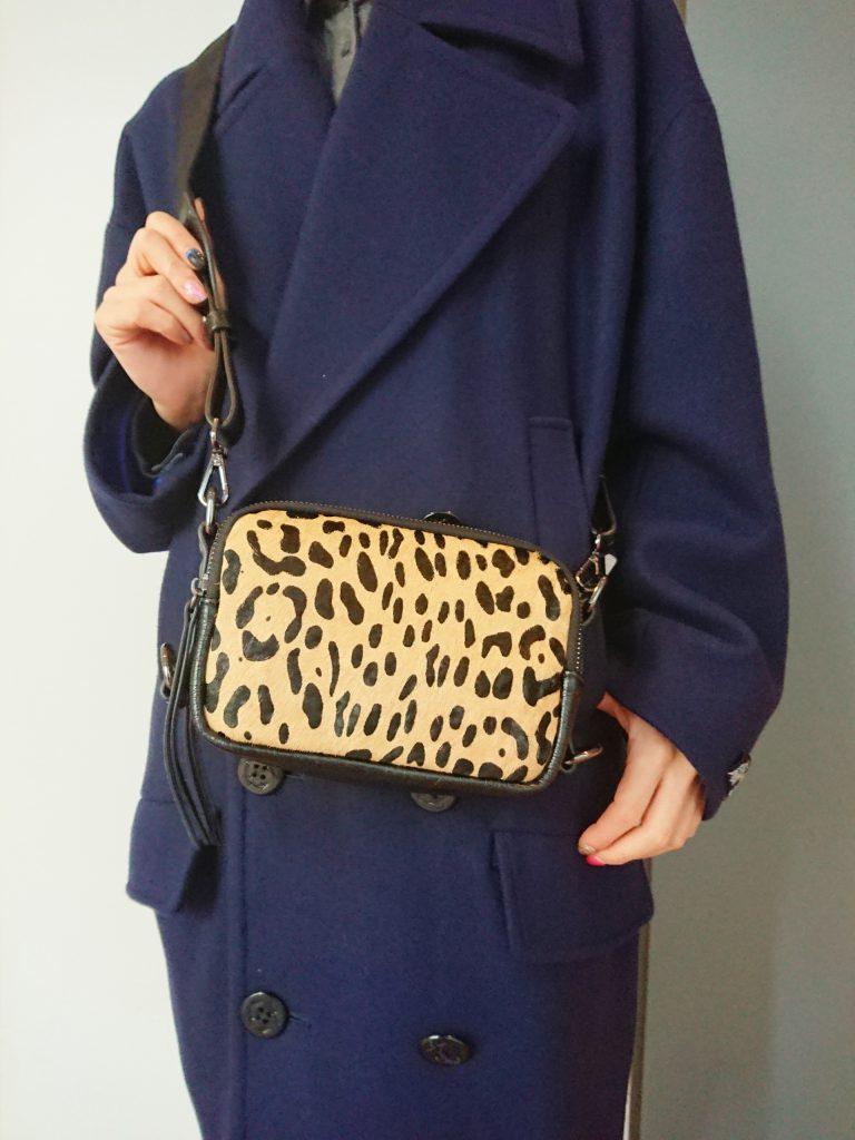 スクラップブック渋谷 スクラップブック ScrapBook ScrapBook渋谷 Leopard shoulderbag ショルダーバッグ ヒョウ柄 ミニボックスショルダーバッグ