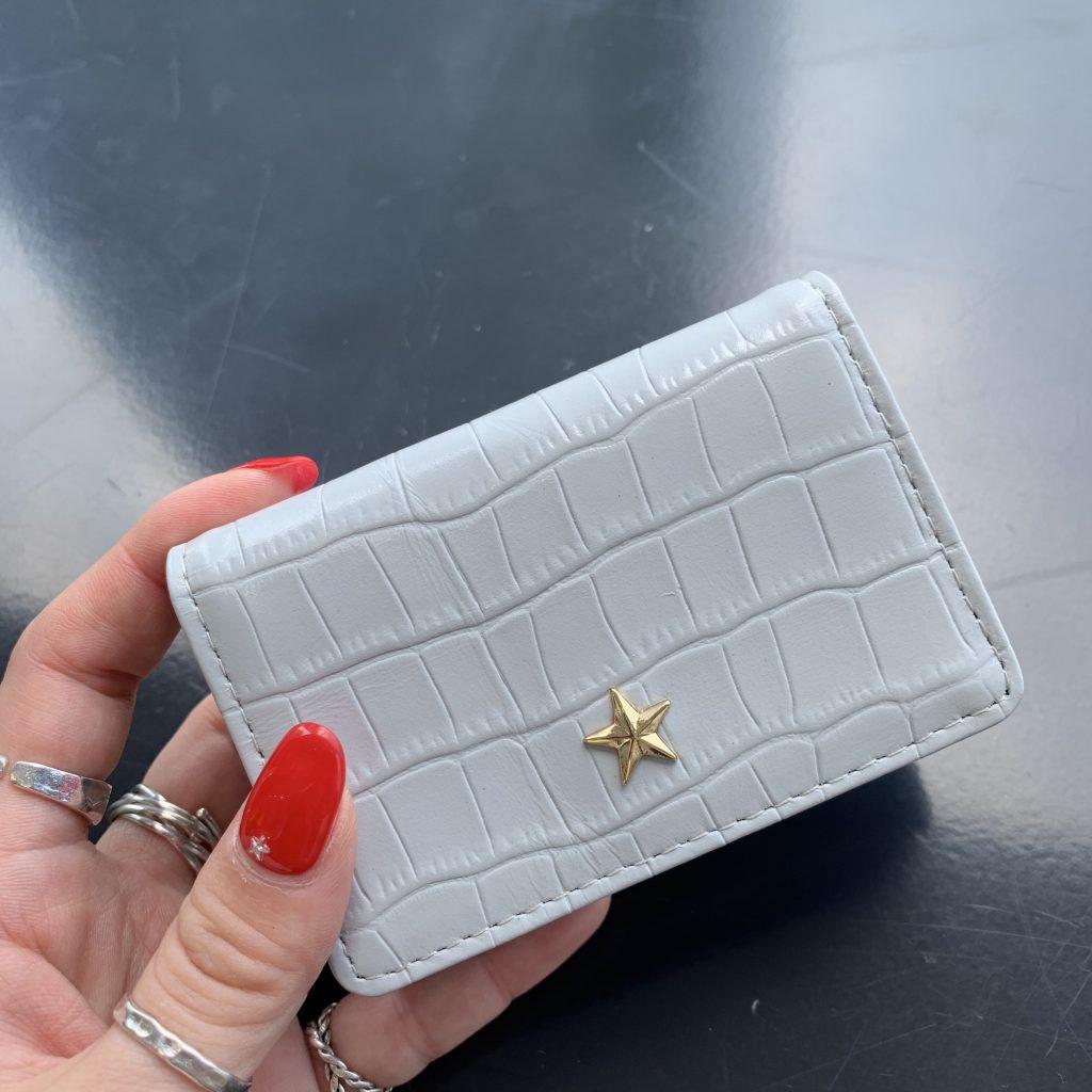 スクラップブック 渋谷 ヒカリエ 財布 wallet 三つ折財布 ミニ財布 小さめ財布