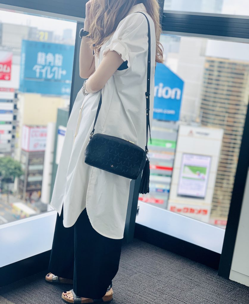 スクラップブック 渋谷 ヒカリエ バッグ bag アトネック atneK ショルダーバッグ 長財布入る 小さめバッグ