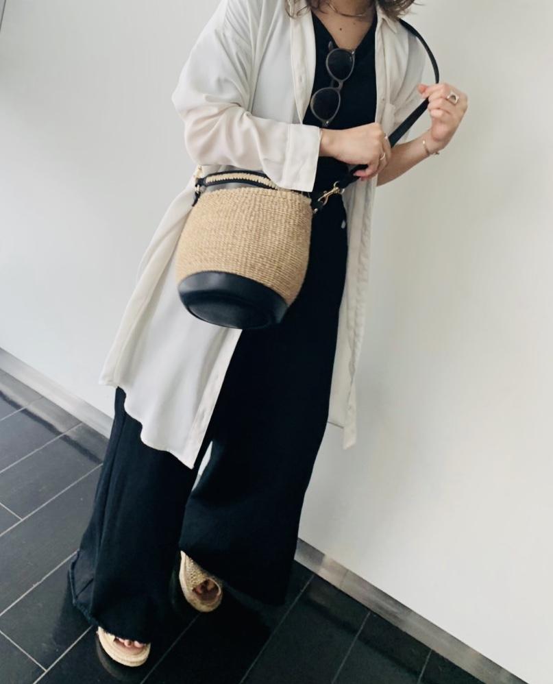 casselini Scrap Book キャセリーニ スクラップブック アトネックバイスクラップブック 有楽町マルイ 可愛い basketbag shoulder bag handbag カゴバッグ ショルダーバッグ ハンドバッグ シンプル simple 持ちやすい 夏バッグ