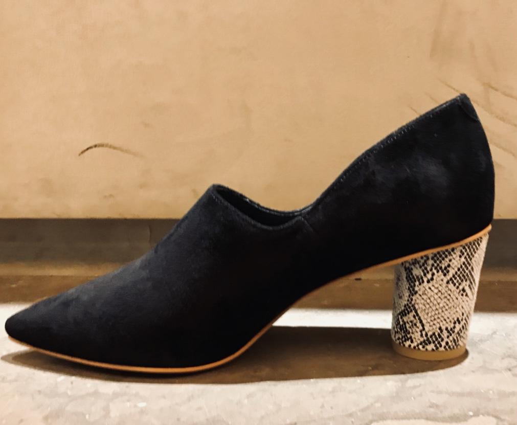 ScrapBook スクラップブック 有楽町 有楽町マルイ 可愛い オリジナルシューズ original shoes 日本製 日本製品 チャンキーヒール 楕円ヒール 安定 履きやすい 深め 本革 インソールしっかり